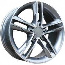 Carbonado Jump 18x8 5x112 ET35 66,45 anthracite polished