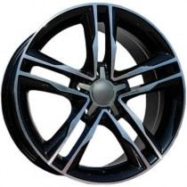 Carbonado Jump 18x8 5x112 ET35 66,45 black polished