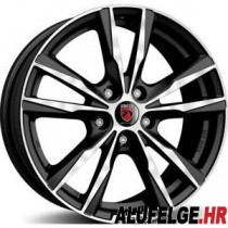 Reds K2 black polished 17x7,5