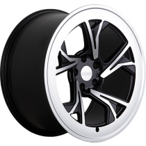 RADI8 R8C5 19x10 Black Polished
