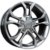 Carbonado Knight 17x7,5 5x112 ET35 66,45 anthracite polished