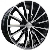 Carbonado Light 17x7,5 5x112 ET35 66,45 black polished