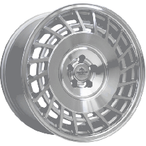 Forzza Limit 18x8,5 silver machined L+R