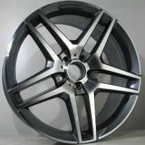 "4Racing M019 grey polished 20"" 5x112"