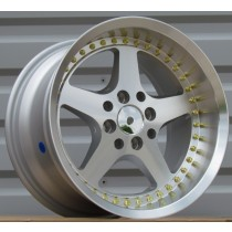 Racing Line RLLU1393 silver polished 15x7 4x100/114,3 ET35 73,1