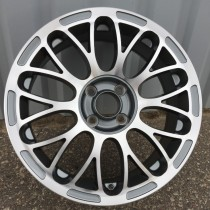 R Line FILU392 grey polished 16x6,5 4x98 ET35 58,1