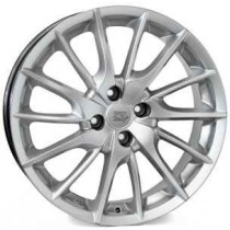 MSW Italy Lucca 17x7 4x100 ET37 56,6 silver