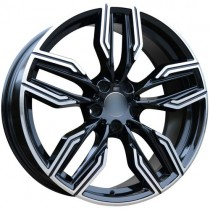 Carbonado Luxor 20x8,5 5x120 ET30 72,6 black polished