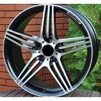 R Line M013 black polished 17x8 5/112 ET40 66,6