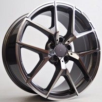4Racing Urban 18x9 5x112 ET45 66,46 anthracit polirana 6A2A65