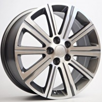 4Racing Magnit 17x7,5 5x108 ET48 65,1 anthracite polished