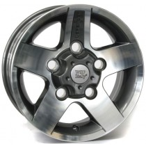 WSP Italy Mali 16x7 5x165 ET33 114 anthracite polished