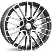 Monaco MC12 20x9 black polished