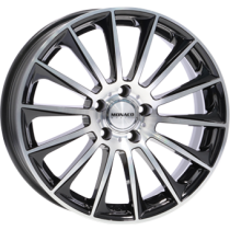 Monaco MC9 19x8,5 black polished