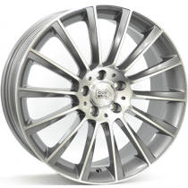 Mile Miglia anthracite polished 19x8