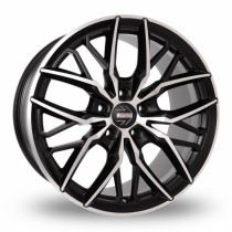 Momo Spider 19x8,5 black polished