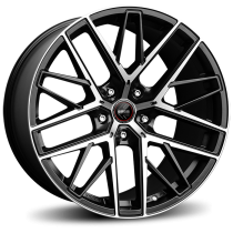 Momo RFX-01 21x9 matt black polished
