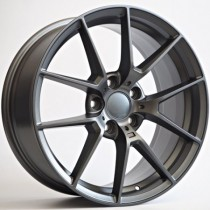 "4Racing Morgan 20"" 5x112 matt dark grey"