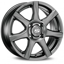 MSW 77 matt dark grey 15x6 5x112 ET45 73,1