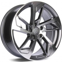 Carbonaro Next 18x8 5x112 ET35 66,45 anthracite polished