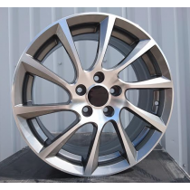 R Line OOPL501 grey polished 16x6,5 5x105 ET39 56,6