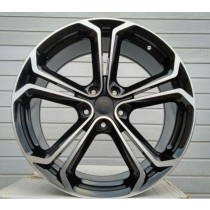 R Line OOPL523 black polished 16x6,5 5x105 ET39 56,6