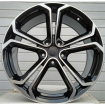 R Line OPL523 black polished 18x7,5 5x120 ET41 67,1