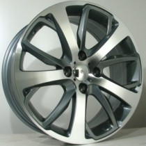 4Racing P03 17x7 antracite polished