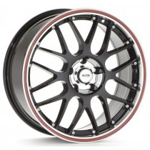 Platin PL61 18x8 black/red