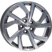 Monaco Pace 18x7,5 anthracite polished