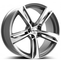 GMP Paky Anthracite Diamond 20x9.0 5x112