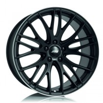 ATS Perfektion 18x8 racing-black lip polished