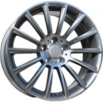Carbonado Performance 17x8 5x112 ET35 66,6 anthracite polished