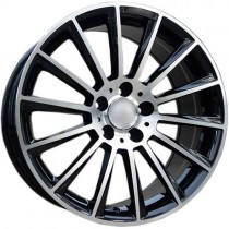 Carbonado Performance 17x8 5x112 ET35 66,6 black polished
