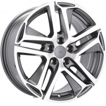 R Line PEPG534 16x7 5x108 ET47 65.1 anthracite polished