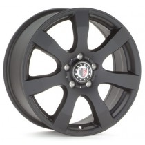 Platin PL55 16x6,5 matt black 6/130