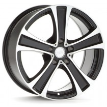 Platin PL56 18x8 black polished