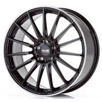 Platin PL75 18x8 Black Polished
