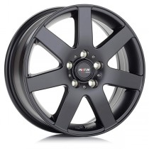 Platin PL04 16x7 black matt