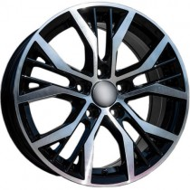 Carbonado Power 16x7 5x112 ET42 66,45 black polished