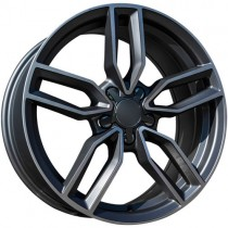 Carbonado Premium 18x8 5x112 ET40 66,45 anthracite polished