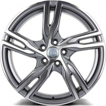 Carbonado Punch 18x8 5x108 ET45 67,1 anthracite polished