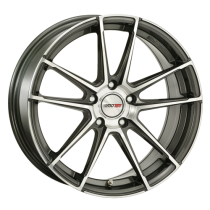 Motec Radical 18x8 dark grey polished