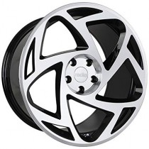 RADI8 R8S5 20x8,5 Black Polished