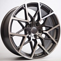 "4Racing Raven 20"" 5x120 anthracite polished"