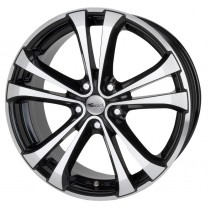 Brock RC 17 18x8 black polished