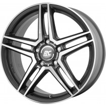 Brock RC17 17x7,5 5x112 grey polished