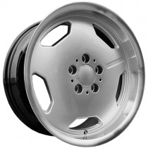Carbonado Retro 16x8 5x112 ET35 66,6 diamond hypersilver