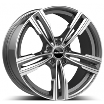 GMP Reven Anthracite Diamond 17x7.5 5x120