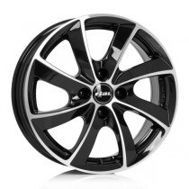 Rial Lugano 19x8,5 black polished